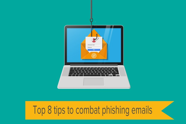 Top 8 tips to combat phishing emails